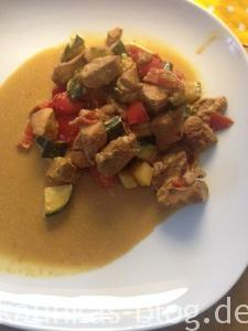 Chinesisches Huhn low carb