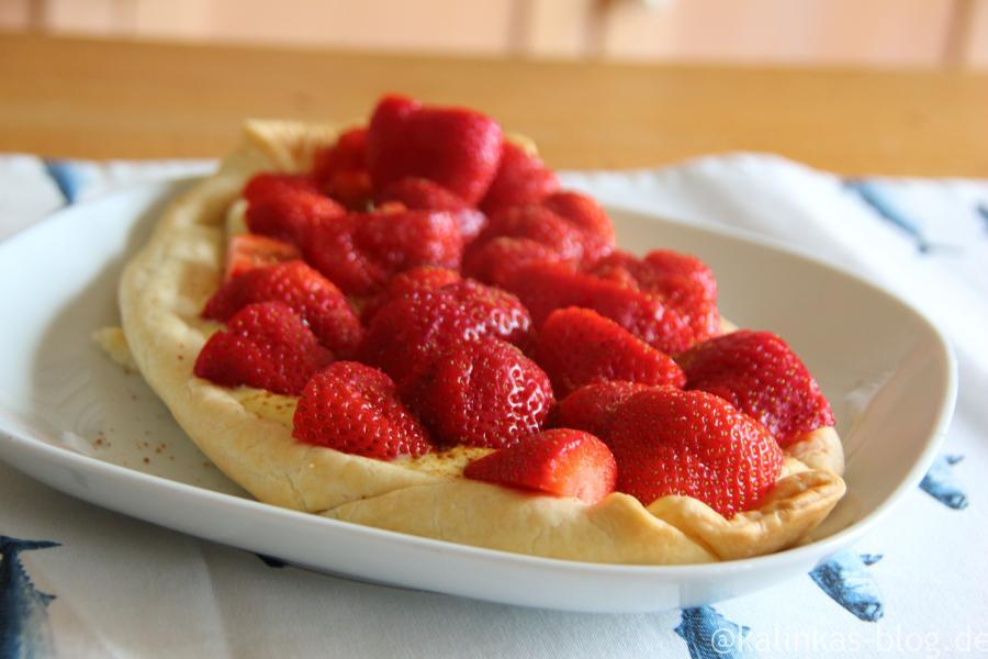 Erdbeerpizza