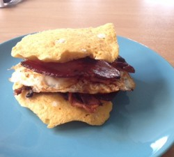 Dukan Egg McMuffin