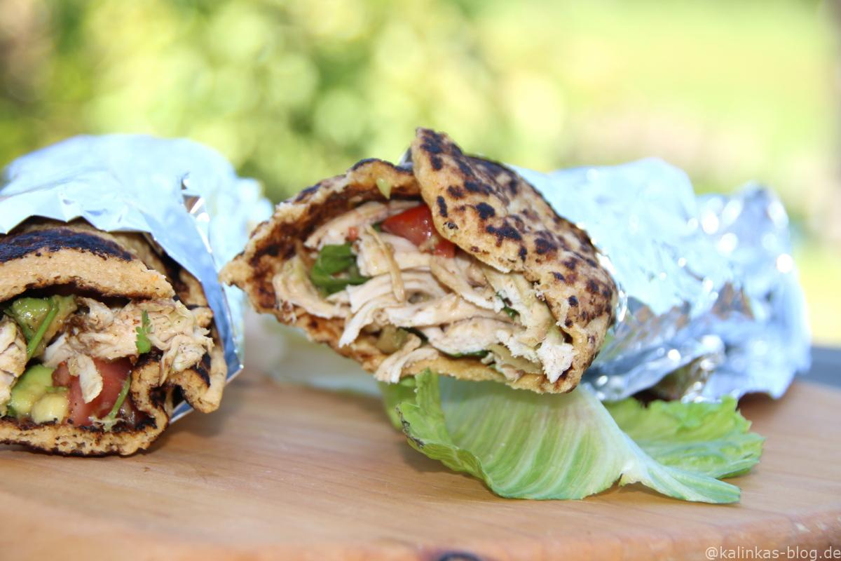 Kalinkas Blog | Picknickzeit - Low Carb Wraps mit Pulled Turkey ...